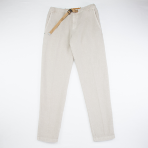 Pantalone WhiteSand realizzato in lino color sabbia