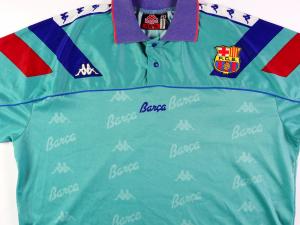 1992-95 Barcelona Maglia Away XL
