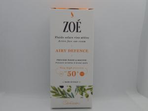 FLUIDO SOLARE VISO ATTIVO AIRY DEFENCE - ZOE' - 50 ML