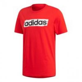 T SHIRT ADIDAS RED CON STAMPA LIN BRUSH DV3053