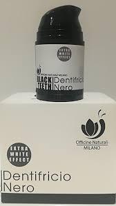 DENTIFRICIO NERO ULTRA SBIANCANTE- OFFICINE NATURALI MILANO