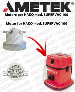 SUPERVAC 100 motor de aspiración Ametek para aspiradora HAKO