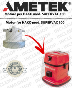 SUPERVAC 100 AMETEK Vacuum motor for vacuum cleaner HAKO