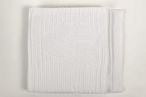 Coperta culla in maglia di cotone Nanny Picci