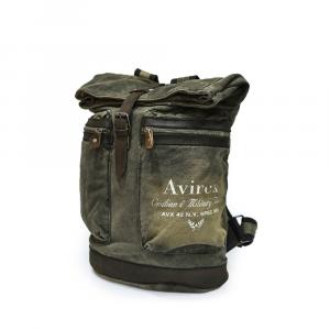 Avirex - 140506 - Zaino unisex 1 scomparto in tessuto verde militare cod. B