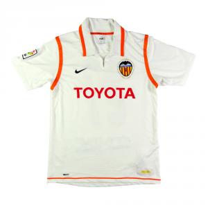 2007-08 Valencia Maglia #21 Silva Home M (Top)