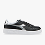 SNEAKERS DIADORA GAME P STEP CON PLATFORM BLACK/SILVER C0787