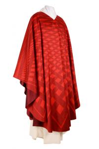 Casula CSER10 Rete Rossa - Seta Foderata