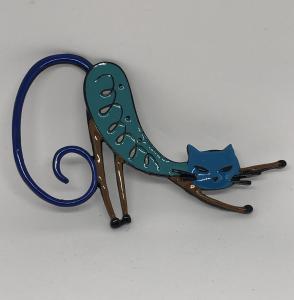 Spilla Chat Miu Bleu (18ecn33z)