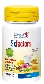 LONGLIFE SX FACTORS - INTEGRATORE ALIMENTARE TONICO