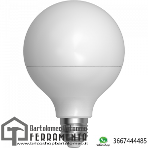 LAMPADA LED GLOBO SMOOTH E27 12W 6400K