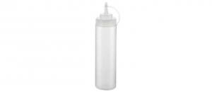 Dosatore liquidi professionale trasparente con tappo per beccuccio 680 ml cm.25h diam.6,5