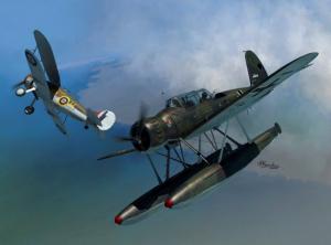 Ar-196A vs. Sea Gladiator