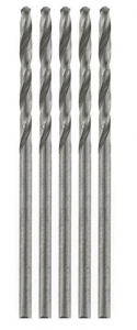 HSS mini Jobber Drills 0,5 mm (twist drills) 5x