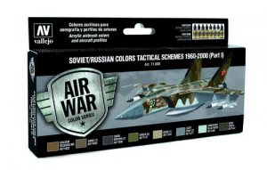 Soviet/Russian Colors Tactical Schemes 1960-2000 (Part I) - set