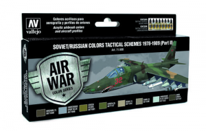 Soviet/Russian Colors Tactical Schemes 1978-1989 (Part II) - set