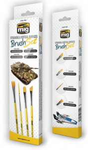 STREAKING AND VERTICAL SURFACES BRUSH SET