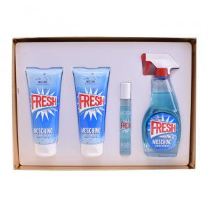 Moschino Fresh Couture Eau De Toilette Spray 100ml Set 4 Parti 2019