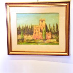 Quadro Castello Di Conegliano 1982