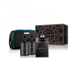 Bvlgari Man in Black Eau De Parfum Spray 100ml Set 4 Parti 2018
