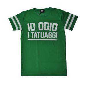 T-shirt traforata IO ODIO I TATUAGGI Oversize