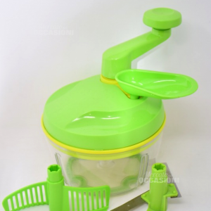 Tritatutto Manuale Tupperware Verde