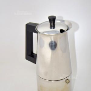 Mokka Caffè Acciaio Made In Italy 6 Tazze