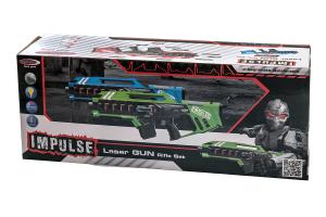 Coppia fucili giocattolo laser Jamara Impulse