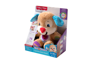 FISHER PRICE - SMART STAGES Cagnolino Ridi e Impara in Peluche