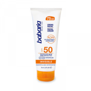 Babaria Facial Cream Invisible Spf50 75ml