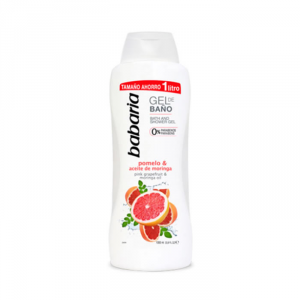 Babaria Pink Grapefruit & Moringa Oil Shower Gel 1000ml
