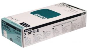 GUANTI PER CHEMIOTERAPIA IN NITRILE SENZA POLVERE MANICA LUNGA (50 PEZZI)