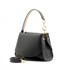 Shopping Bag S Olivia Pope in pelle Nera