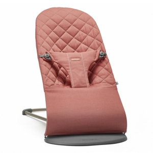 Sdraietta balance bliss cotton BabyBjorn Rosa terracotta