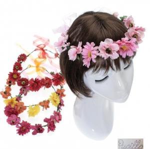 fascia f.capelli fiori