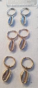 orecchino acciaio pendenti