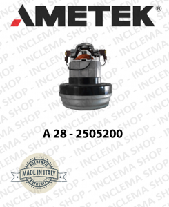 A28 - 2505200 Saugmotor AMETEK ITALIA für Staubsauger