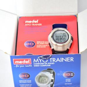 Orologio Myo Trainer (calcola Passi,distanza,velocità,calorie..)