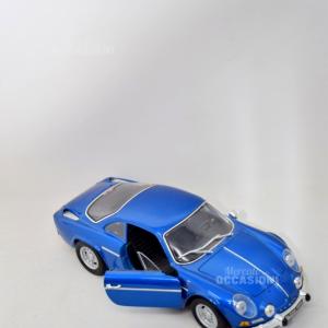 Modellino Renault Alpine Blu
