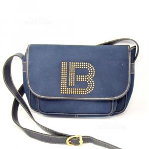 Borsa Blu Laura Biagiotti Vintage
