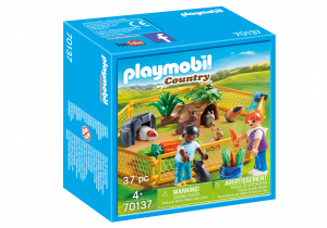 PLAYMOBIL RECINTO DEI PICCOLI ANIMALI 70137