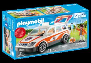 PLAYMOBIL AUTOMEDICA CON SIRENA 70050