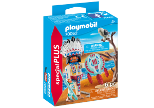 PLAYMOBIL CAPO INDIANO 70062
