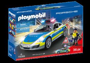 PLAYMOBIL PORSCHE 911 CARRERA 4S POLICE 70066