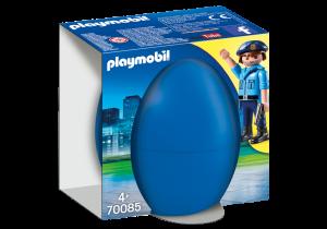 PLAYMOBIL POLIZIOTTO CON CANE 70085