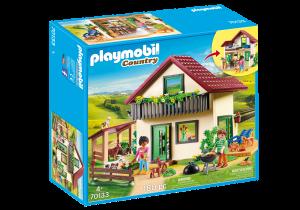 PLAYMOBIL CASA CON ALLEVAMENTO BIO 70133