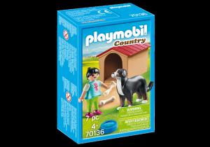 PLAYMOBIL CANE CON CUCCIA 70136