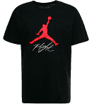 T SHIRT JORDAN BLACK LOGO RED AO0664/010