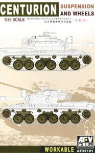 CENTURION SUSPENSION AND WHEELS SCALE