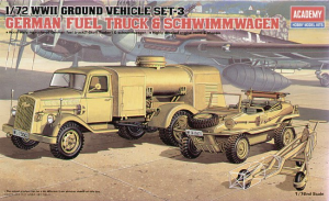 German Fuel Truck and Schwimwagen